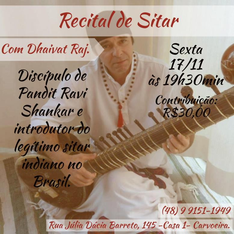 Recital de Sitar